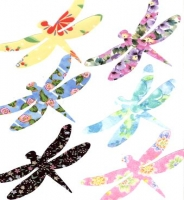 Die Cut Dragonfly Applique